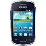 "Samsung Galaxy Star - Smartphone libre Android (pantalla 3"", cámara 2 MP, 4 GB, 1 GHz, 512 MB RAM), negro"