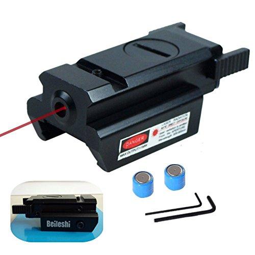Beileshi Red Dot Laser Sight Tactical 20mm Standard Weaver Rail for Pistol Gun Rifle (Gun Sights Glock compare prices)