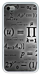 iPhone 4S Cases and Covers - Math Customize TPU Rubber Case for iPhone 4S/4 White