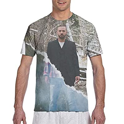 Justin Timberlake T-Shirt 3D Printed Tees Shirt Double-Sided Pattern Tops