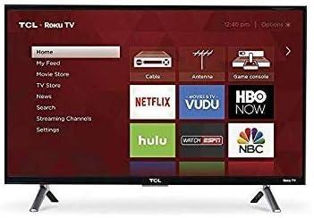 """1080p LED 50/"""" Class HDTV Roku TV Smart Open-Box Certified: Sharp"""