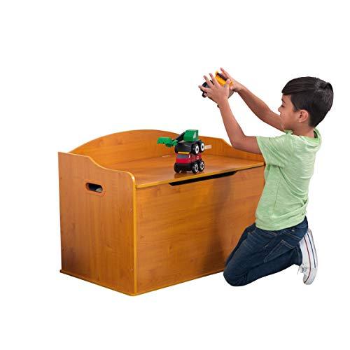 Honey Kids Wooden Storage (KidKraft Austin Toy Box - Honey)