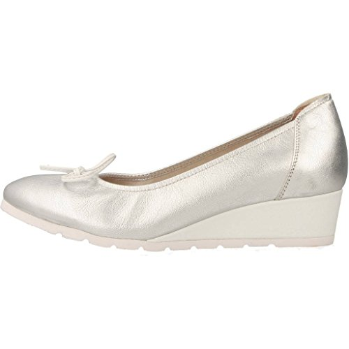 Colour Womens Ballerina Model Silver Shoes Silver Sabrinas 65031 Shoes Brand wt6nqOOA