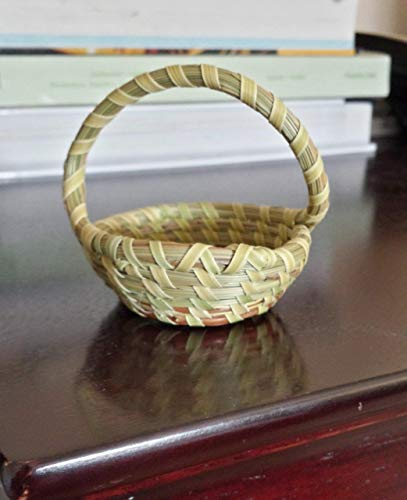 - Sweetgrass Mini One Handle Basket