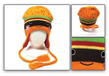 Amazon.com   Beanie - Laplander - Hamburger   Sports Fan Beanies ... f4e6981363bc