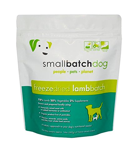 Picture of SMALL BATCH FREEZE DRIED BATCH SLIDERS, DOG 14OZ (Lamb)