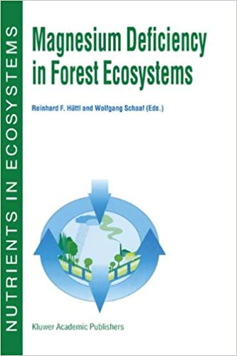 Magnesium Deficiency in Forest Ecosystems (Nutrients in Ecosystems) Softcover reprint of the original 1st ed. 1997 Edition