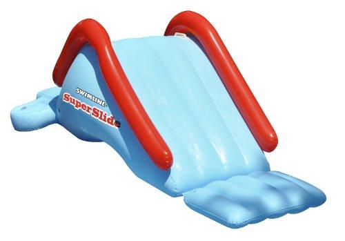 (Swimline 90809 SuperSlide Inflatable In Ground Pool Water Slide )