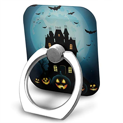 SJWE0 Happy Halloween MobilePhone Ring Holder Stand, 360° Rotation Universal Smartphone Ring Grip Stand Car Mounts Smartphones Tablets ()