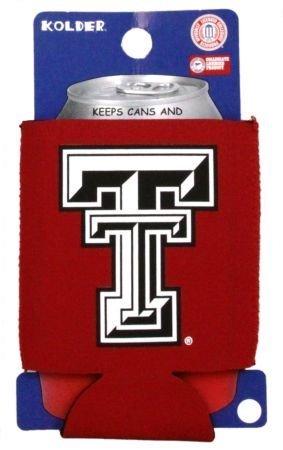 TEXAS TECH RED RAIDERS CAN KADDY KOOZIE COOZIE COOLER (Tech Kaddy)