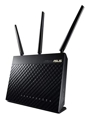 ASUS RT-AC68U AC1900 AiMesh Dual-Band Gigabit Wireless Router  Mesh    Access Point Mode  USB 3 0 and USB 2 0 for Media Server  3G 4G Dongle Support  802 11AC