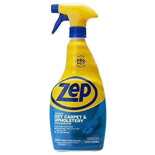 Zep ZUOXSR32 Oxy Carpet and Upholstery Stain Remover 32 oz.