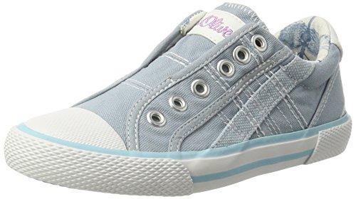 s.Oliver 43211, Zapatillas Para Niños Azul (LT BLUE 810)