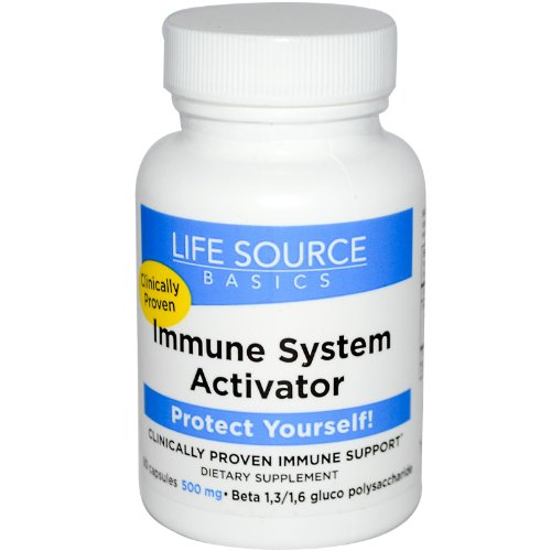 Life Source Basics Immune System Activator -- 500 mg - 60 Capsules