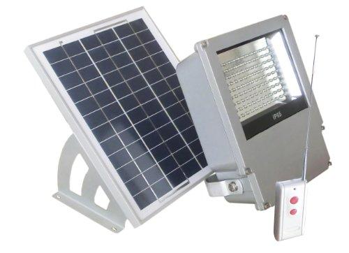 108 LED Solar Powered Wall Mount Flood Light by Reusable Revolution