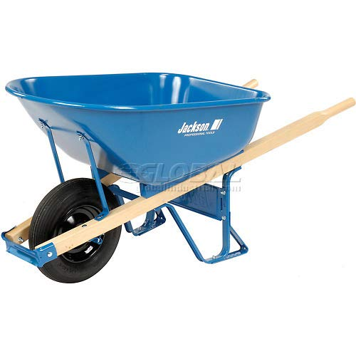 Jackson Contractors - 6 Cubic Foot Jackson Steel Contractor Wheelbarrow