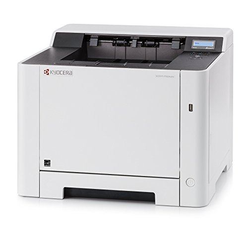 Kyocera 1102RB2US0 Model ECOSYS P5026cdw Color Network Printer, 5 Line LCD Screen with Hard Key Control Panel, Up to Fine 1200 DPI Print Resolution, Wireless and Wi-Fi Direct Capability (Line Display 5)