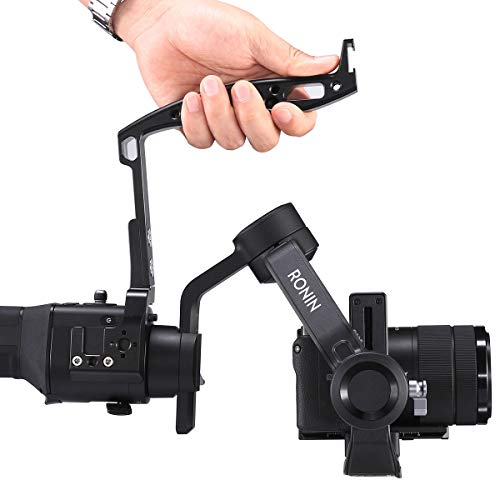 Gimbal Hand Grip for Ronin SC Handle Aluminum Alloy Handy Mounting Rig Handheld Camera Stabilizer Accessories Extension Handle Connect LED Light//Monitor//Mic for DJI Ronin SC Gimbal