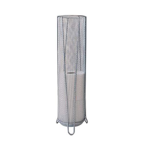 - Cxmm Durable Cylinder Umbrella Storage Umbrella Stand Metal Mesh Bracket with Water Tray Home Independent Umbrella Storage Rack Silver 14 53.3cm