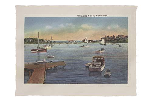 Lantern Press Wychmere Harbor Scene, Cape Cod 10364 (60x80 Poly Fleece Thick Plush Blanket) ()