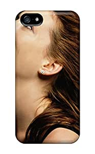 Quality ScoDBke Case Cover With Anne Hathaway Laugh Nice Appearance Compatible With Iphone 5/5s