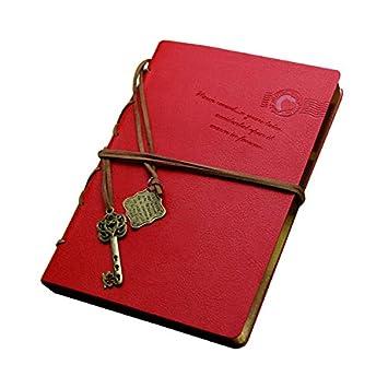 AISI Retro - Agenda de bolsillo, estilo vintage (páginas ...