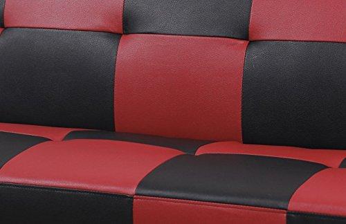 beverly fine furniture f2104 checkered futon sofa bed beverly fine furniture f2104 checkered futon sofa bed   stupidprices  rh   stupidprices