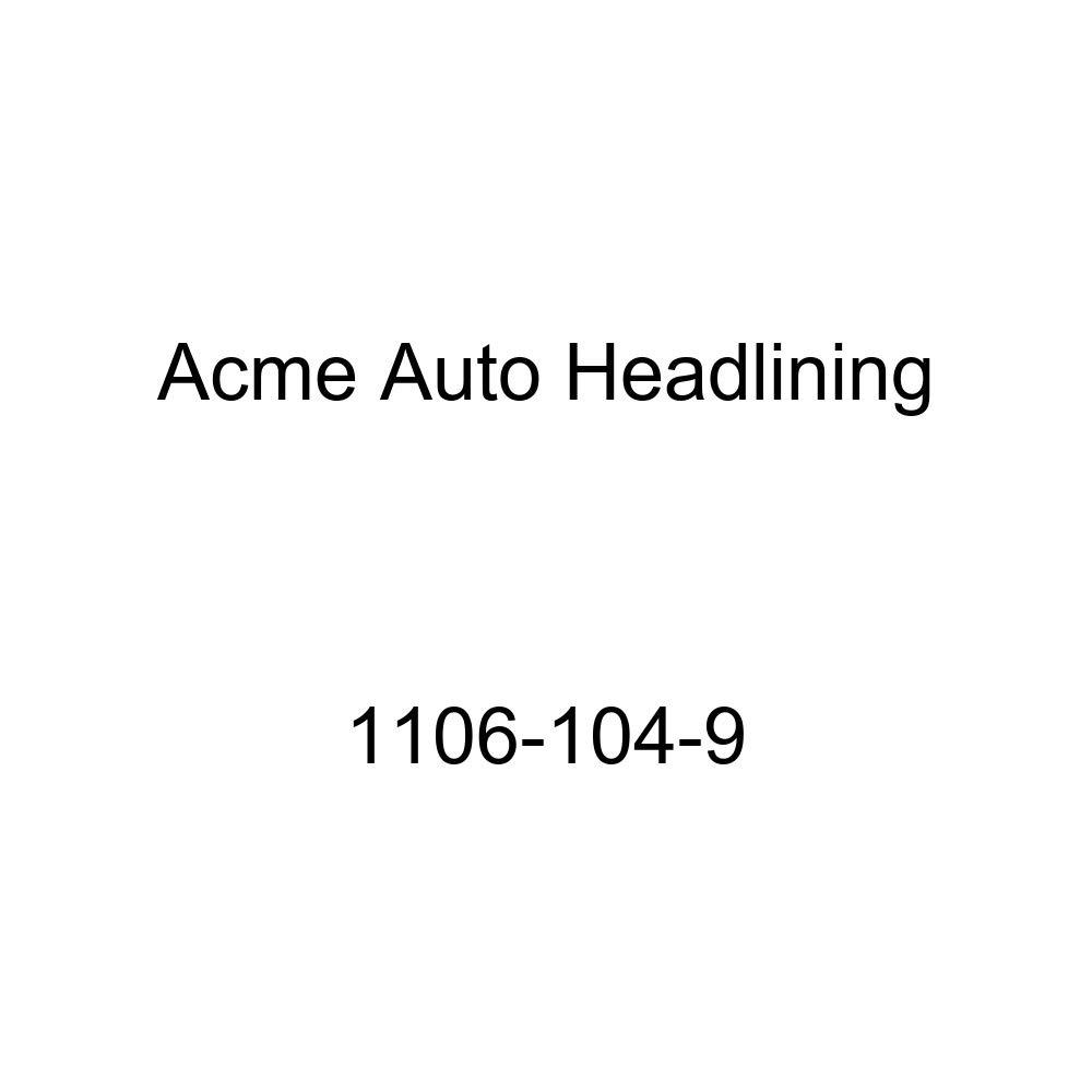 1937-38 GM 2 Door 7 Bow Sedan and Coupes Acme Auto Headlining 1106-104-9 Dark Green Replacement Headliner