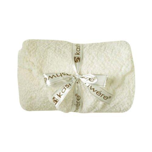 Kashwere Baby Set Blanket & Cap - Solid Creme