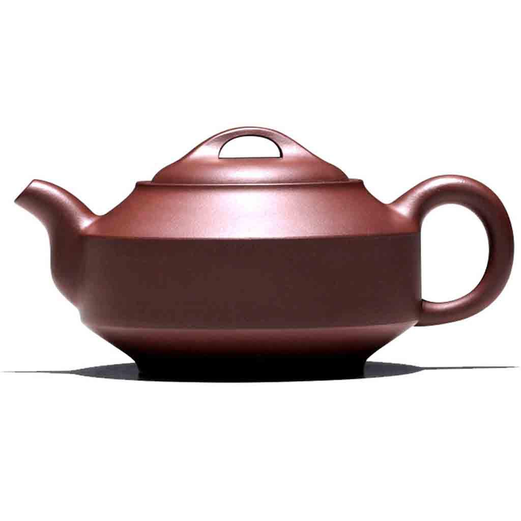 Tea Cozies Pure Handmade teapot Large Capacity Kung Fu Tea Set Tao Jian Hanjun Pot (Color : Brown, Size : 15.29.58cm)