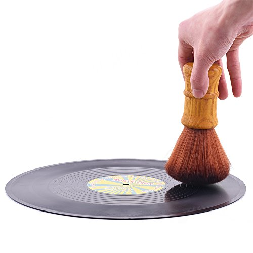 Turntable Vinyl Record LP Cleaning Anti-Static Brush Cleaner by Fosi Audio
