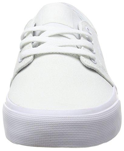 DC Trase TX M Shoe Unisex-Erwachsene Low-Top Elfenbein (103)