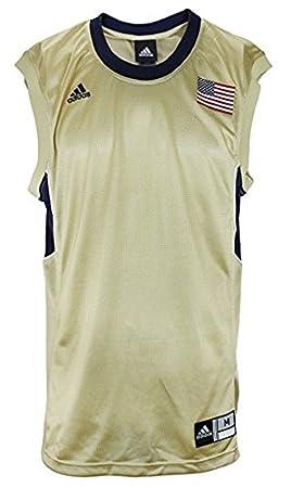 adidas Camiseta de Baloncesto Jersey en Blanco con Bandera ...