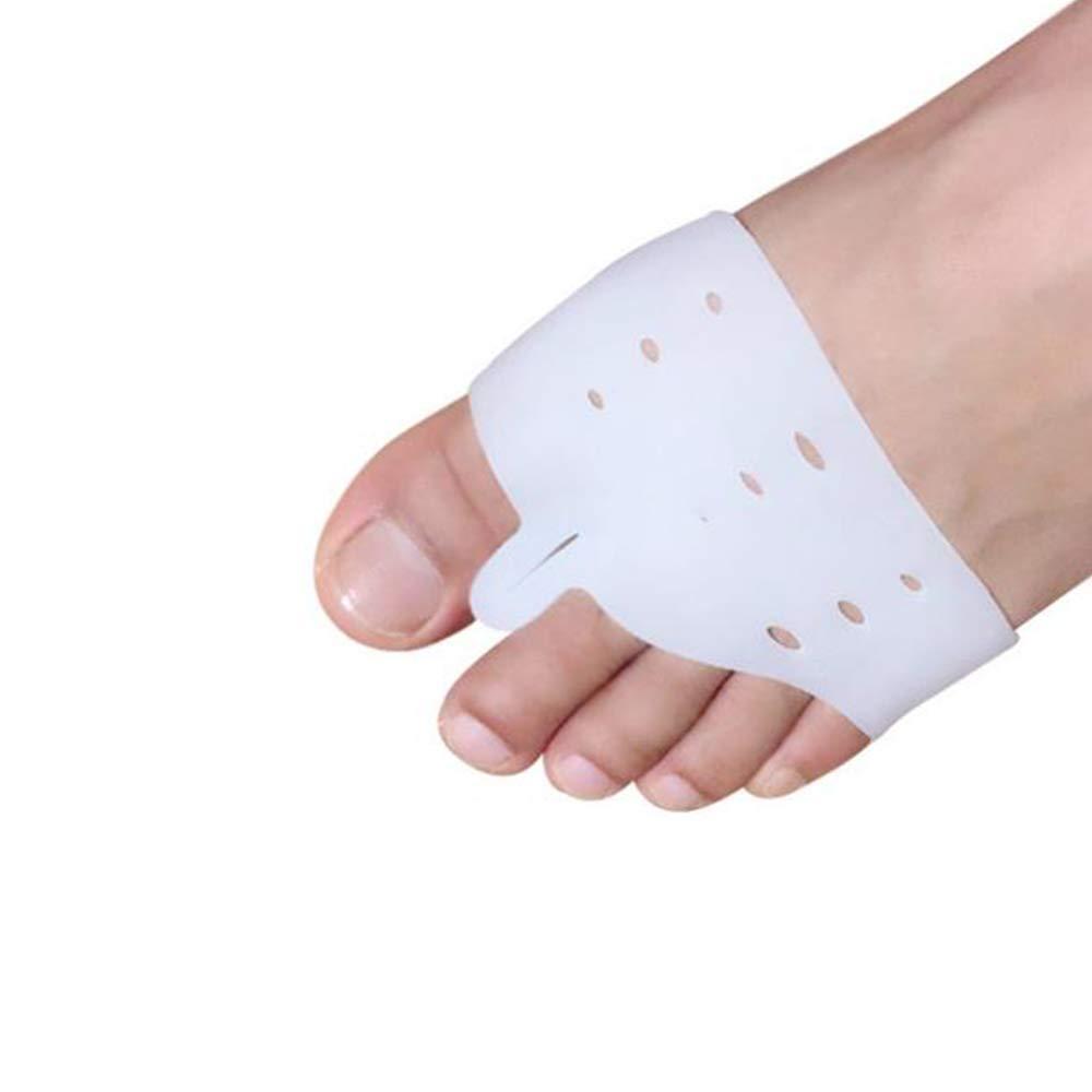 LEIDADA 1 Pair Medical Silicone Gel Foot Fingers Toe Separator Thumb valgus Protector Bunion Adjuster Hallux Valgus Guard feet Care