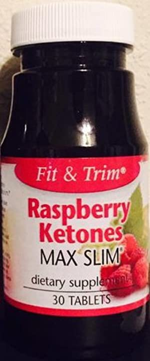 Raspberry Keytones Max Slim Dietary Supplement
