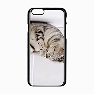 iPhone 6 Black Hardshell Case 4.7inch paw striped Desin Images Protector Back Cover