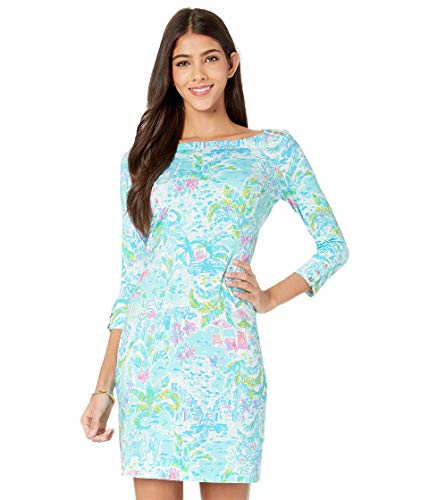 Lilly Pulitzer Women's UPF 50+ Sophie Dress, Multi What A Lovely Place, XS from Lilly Pulitzer