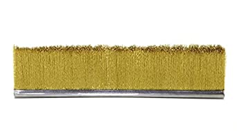 metal backed strip brush course contemporary