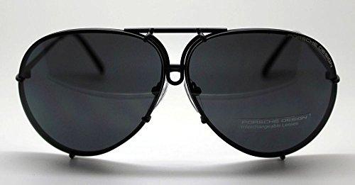 Porsche Design P8478 D Aviator Sunglasses Black Matte
