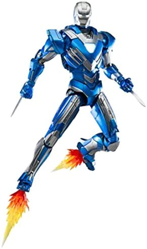 Amazon.com: Iron Man 3 Mark 30 Azul Acero Die-Cast metal ...