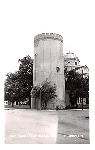 Confederate Memorial Hall Columbus, Texas postcard