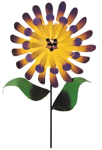 Steven Cooper Metalsmith AFLWR-36-XL Artificial Garden Flower on Footed Stake, 6-Feet, Yellow by Steven Cooper Metalsmith