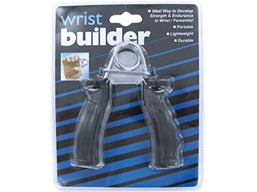 K&A Company Builder Wrist Grip Hand Strength Fitness Arm Exercise Case of 72 by K&A Company