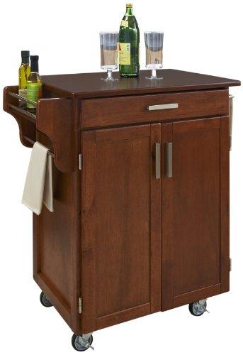 Homestyles® Warm Oak Finish Gourmet Cart