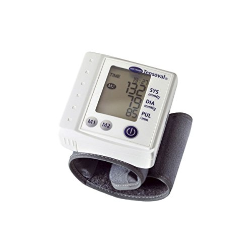 Amazon.com: Hartmann Tensoval Classic Portable Blood Pressure Monitor For Measurement On Wrist: Health & Personal Care