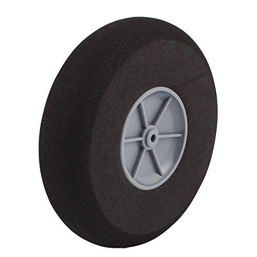 EbuyChX 4mm Shaft Hole RC Plane Tail Tire Light-Weight Sponge Wheel Metric Size D110 ()