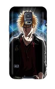 Hot Ichigo Kurosaki Illumination First Grade Tpu Phone Case For Galaxy S5 Case Cover