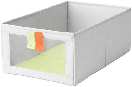 Bolsa, IKEA släkting, colour-grey/verde, tamaño 27 x 42 x 17 cm, práctico almacenamiento para todas las pequeñas cosas.: Amazon.es: Bricolaje y herramientas