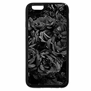 iPhone 6S Case, iPhone 6 Case (Black & White) - Roses for a good friend Talana