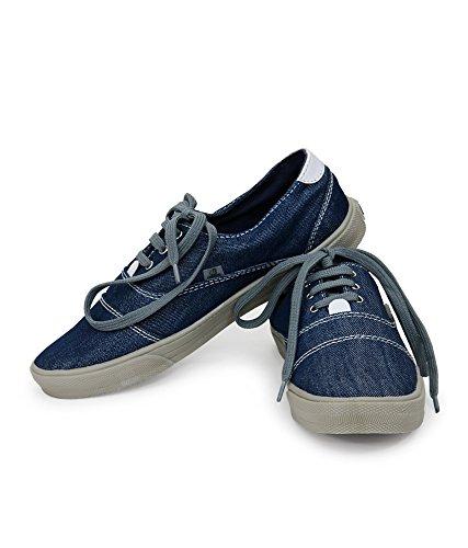 Blue Denim Shoes for Boys, Denim Shoes